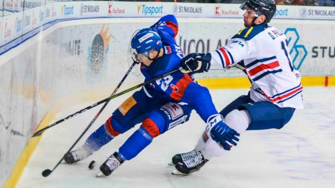 Great Britain Defeated By Slovakia In Final World Championship Warm